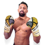RDX F7 Ego Boxing Gloves - Gold [NEW]
