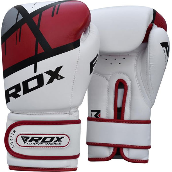 RDX F7 Ego Boxing Gloves - Red