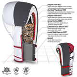 RDX F7 Ego Boxing Gloves - Red : Specifications