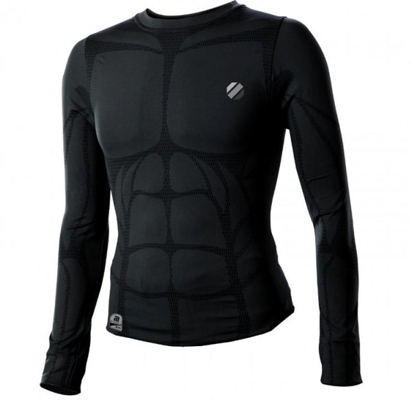 UFC Aim Long-sleeve Rashguard - Black