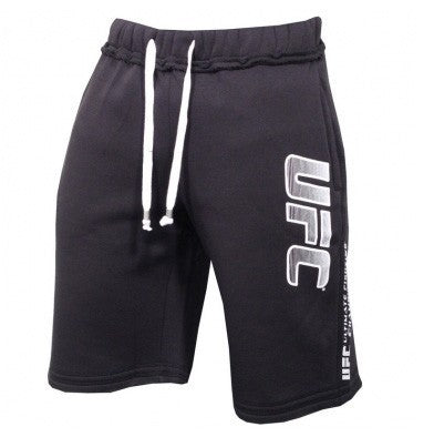 UFC Strike Track Shorts - Black : Small (30) [BACK ORDER] {|||}
