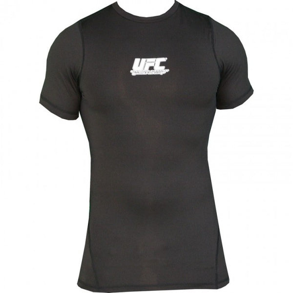 UFC Team Short-sleeve Rashguard - Black [BACK ORDER]