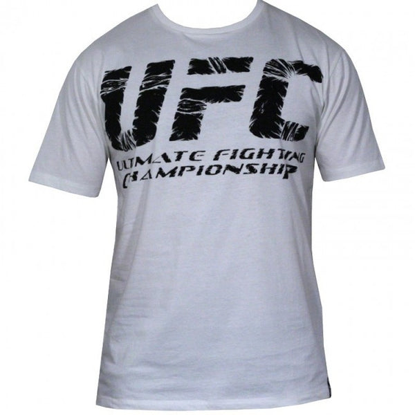 UFC Wrap Cotton T-Shirt - White : XXL [BACK ORDER]