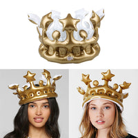 Inflatable Crown Hat