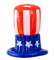 Inflatable Uncle Sam American Hat