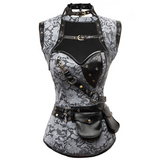 The Chandra Skull Corset set