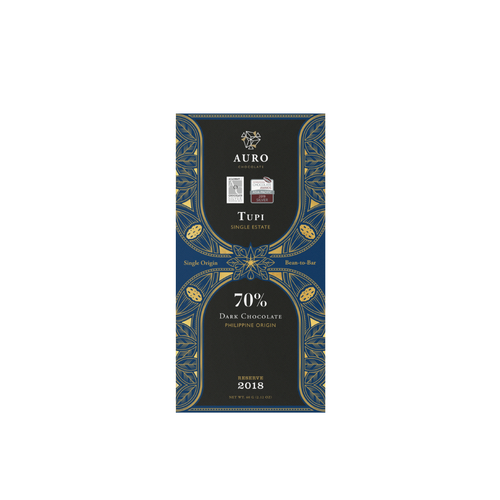 Auro 70% Dark Chocolate Single-Estate Tupi