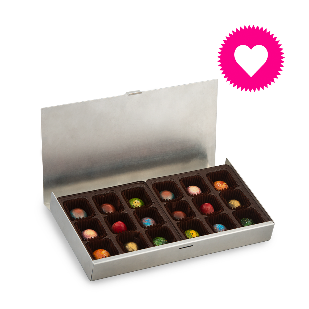 Personalized Valentine's Box of Bonbons (18pcs)