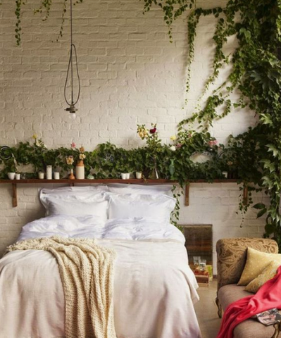 5 Ways To Decorate Your Bedroom With Greenery The Plants Project