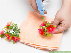 cleaning artificial plants is an easy task