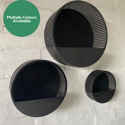 Full Moon Planters | Perforated