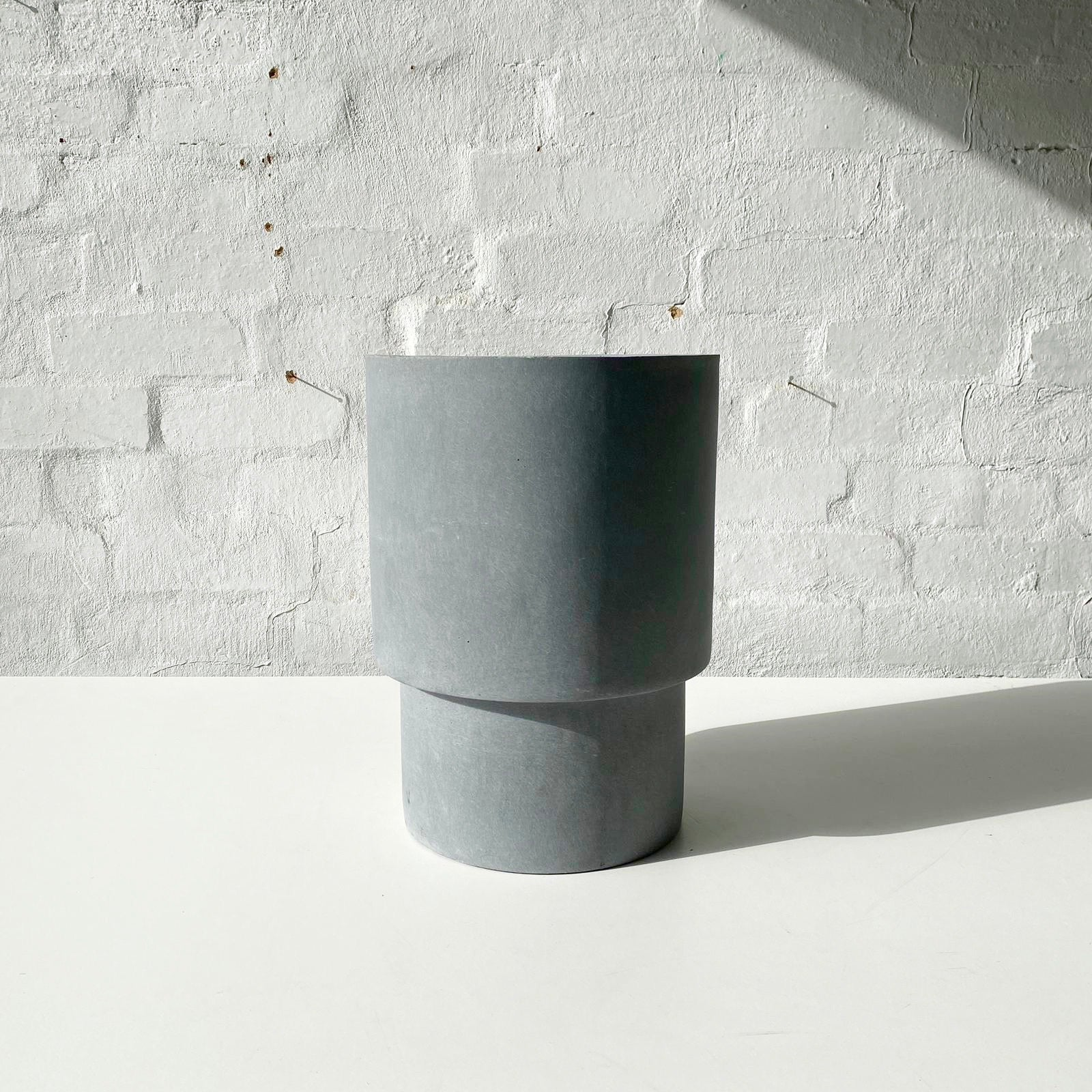 Lightweight Mason Pots | Tall | Grey