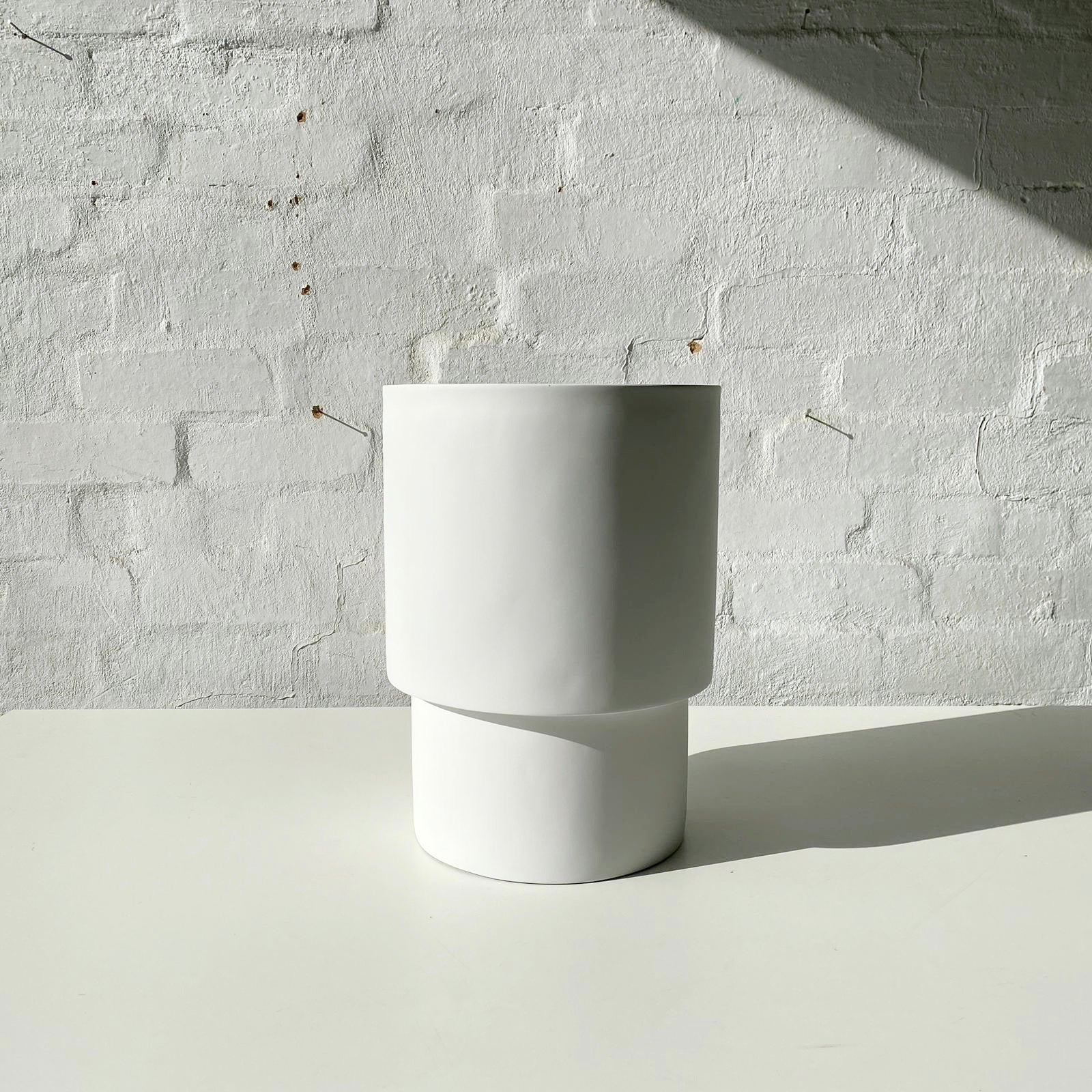 Lightweight Mason Pots | Tall | White