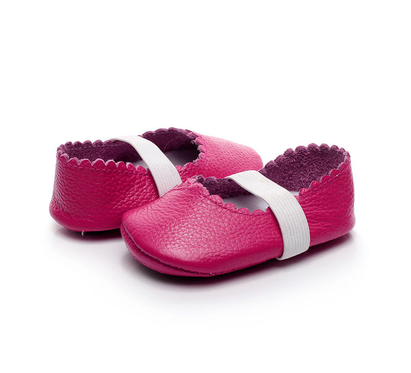 Genuine Leather Soft Sole Baby Ballet Flats