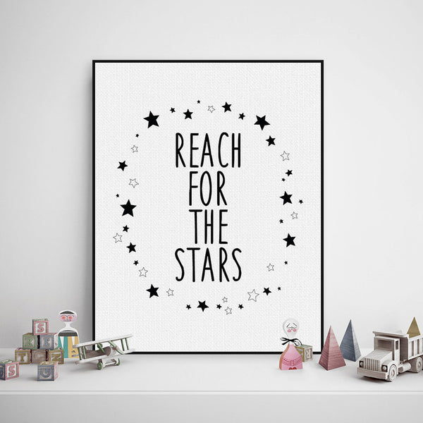 Reach For The Stars Canvas Art Poster