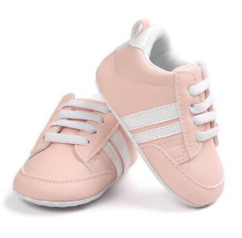 Baby First Walkers PU Leather (Stripes)
