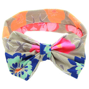 The Emma Headband (Tropical Floral)