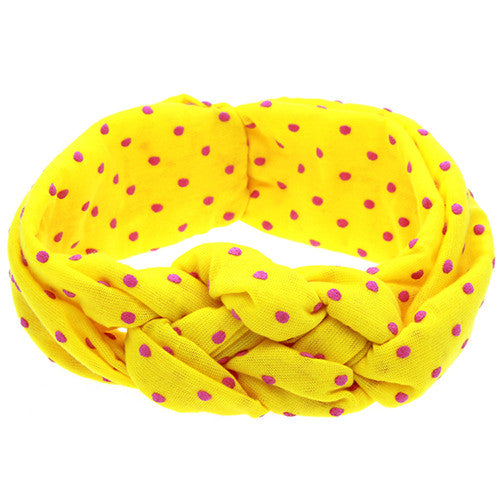 The Oliva Headband (Yellow)