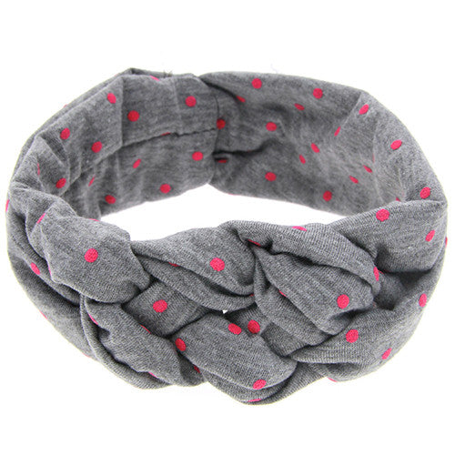 The Oliva Headband (Grey)