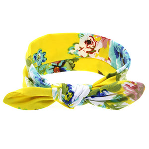 The Isabella Headband (Sunny Floral)