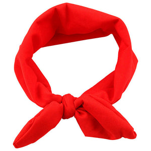 The Ava Headband (Red)