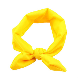 The Ava Headband (Yellow)