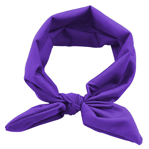 The Ava Headband (Purple)
