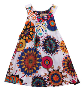 Sleeveless Summer Tunic/Dress (Mandala)