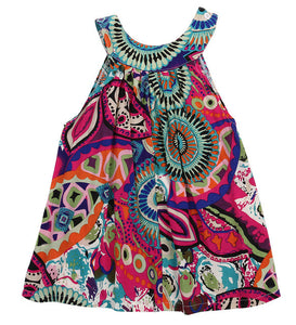 Sleeveless Summer Tunic/Dress (Paisley)