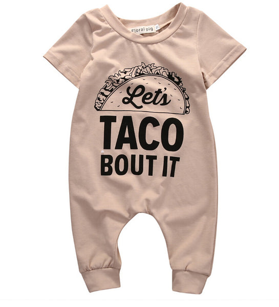 Let's Taco Bout It Romper