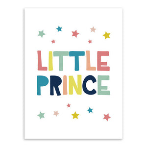 Little Prince Canvas Art Poster