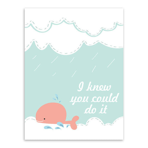 I Knew You Could Do It Canvas Art Poster