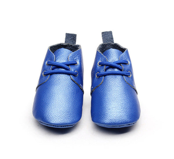 Genuine Leather/Suede Baby Lace Ups