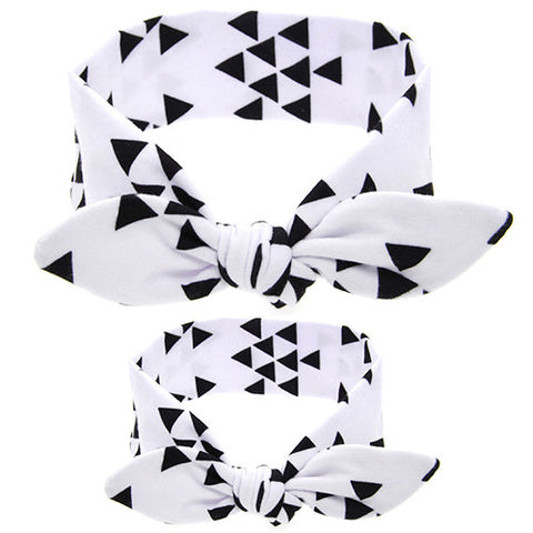 Mommy & Me Headband Set (Triangles)