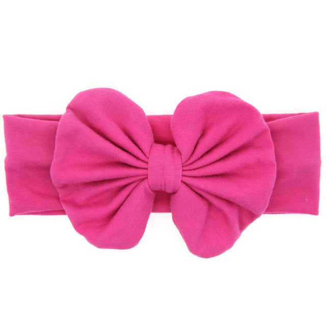 The Zoe Headband (Hot Pink)