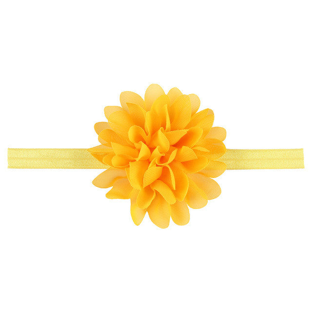 The Amelia Headband (Sunflower)