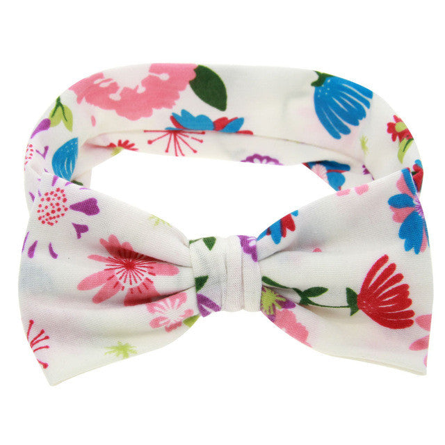 The Riley Headband (Spring Floral)