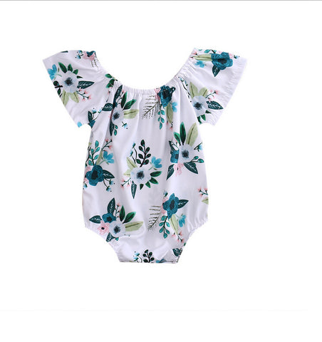 Floral Short Sleeve Bodysuit