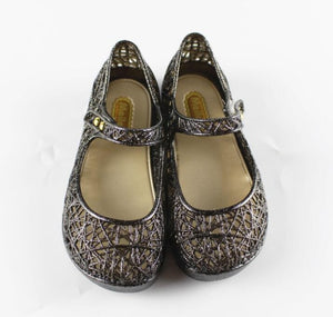 Crystal Garden Jelly Shoes