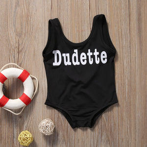 Dudette One-piece