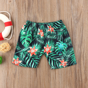 Boys Tropics Trunks