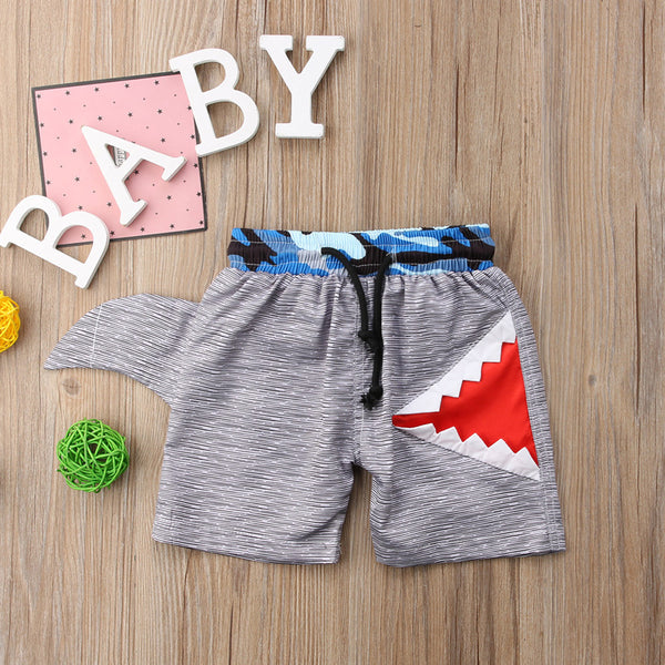 3D Shark Trunks