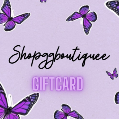 SHOPGGBOUTIQUEE GIFTCARD