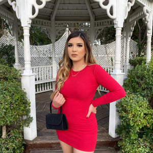 Gina dress (red)