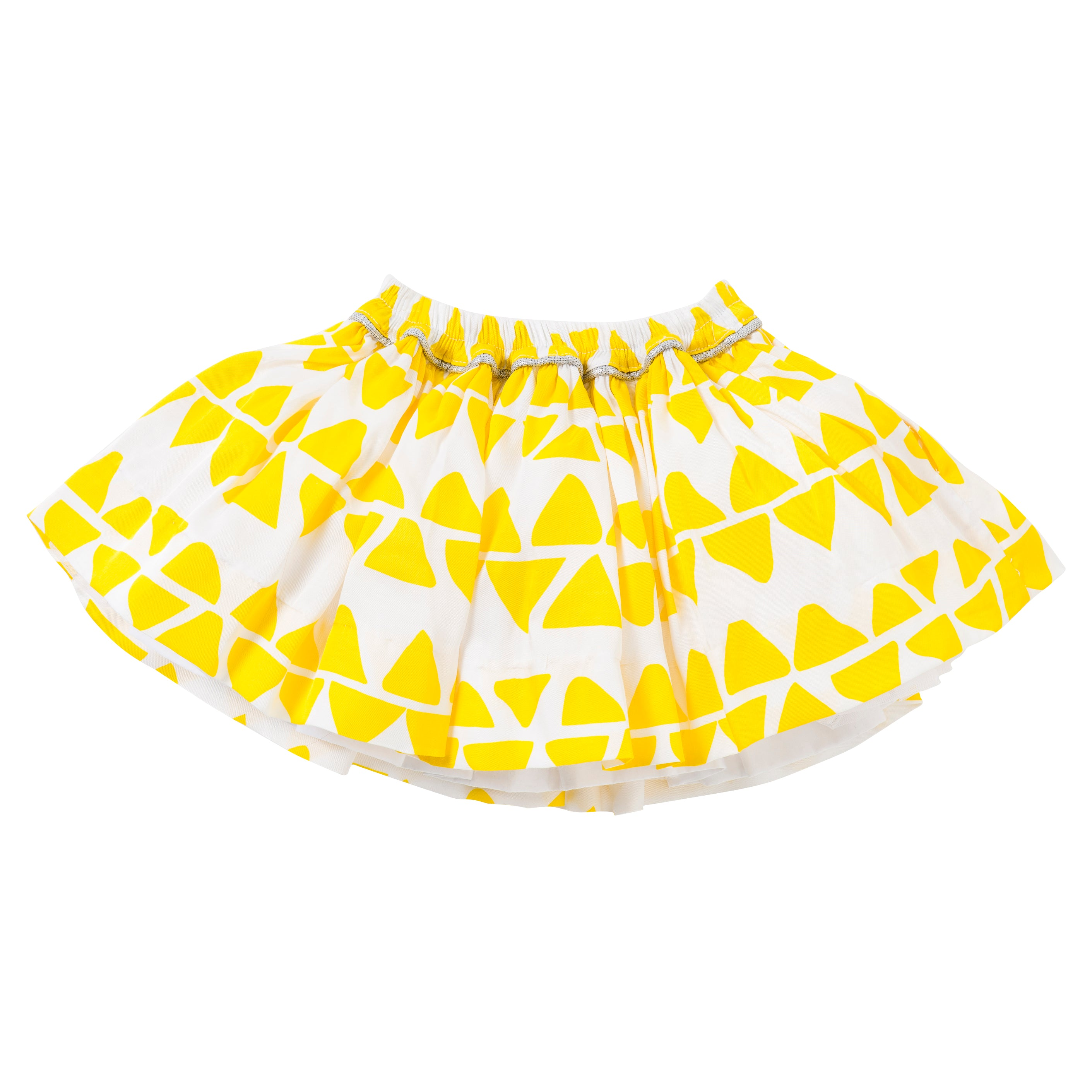Pocket Skirt in Yellow