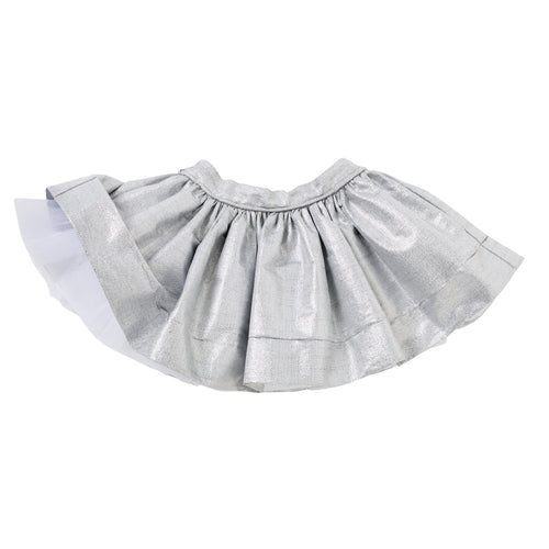 Pocket Skirt in Silver