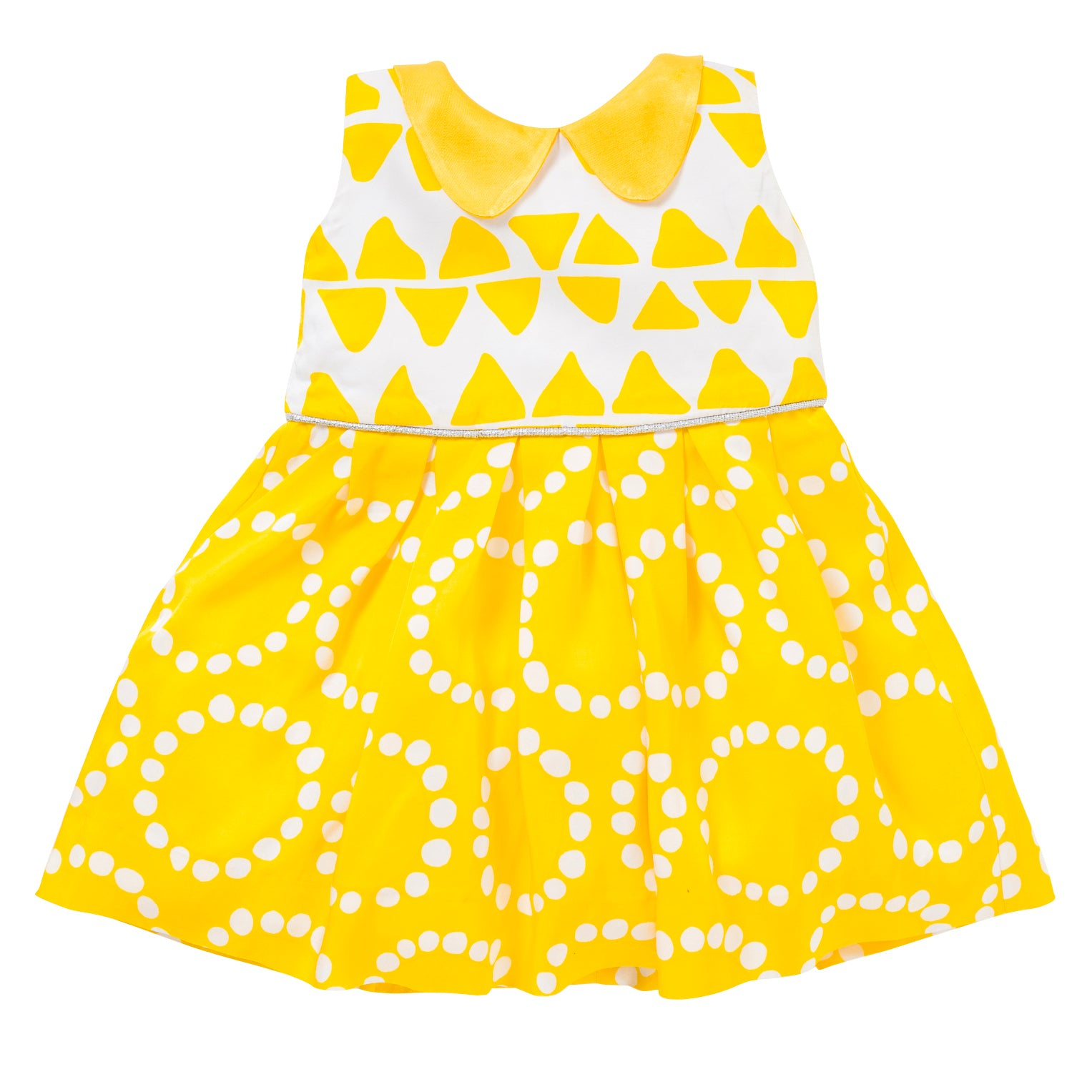 The Peter Pan Dress in Yellow