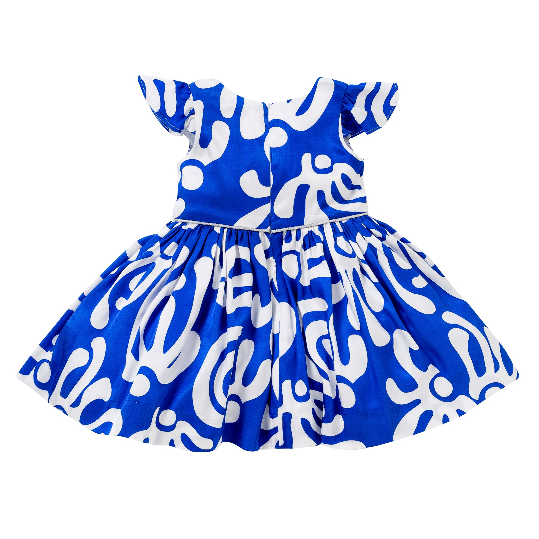 The Aria Dress in Blue Dancers
