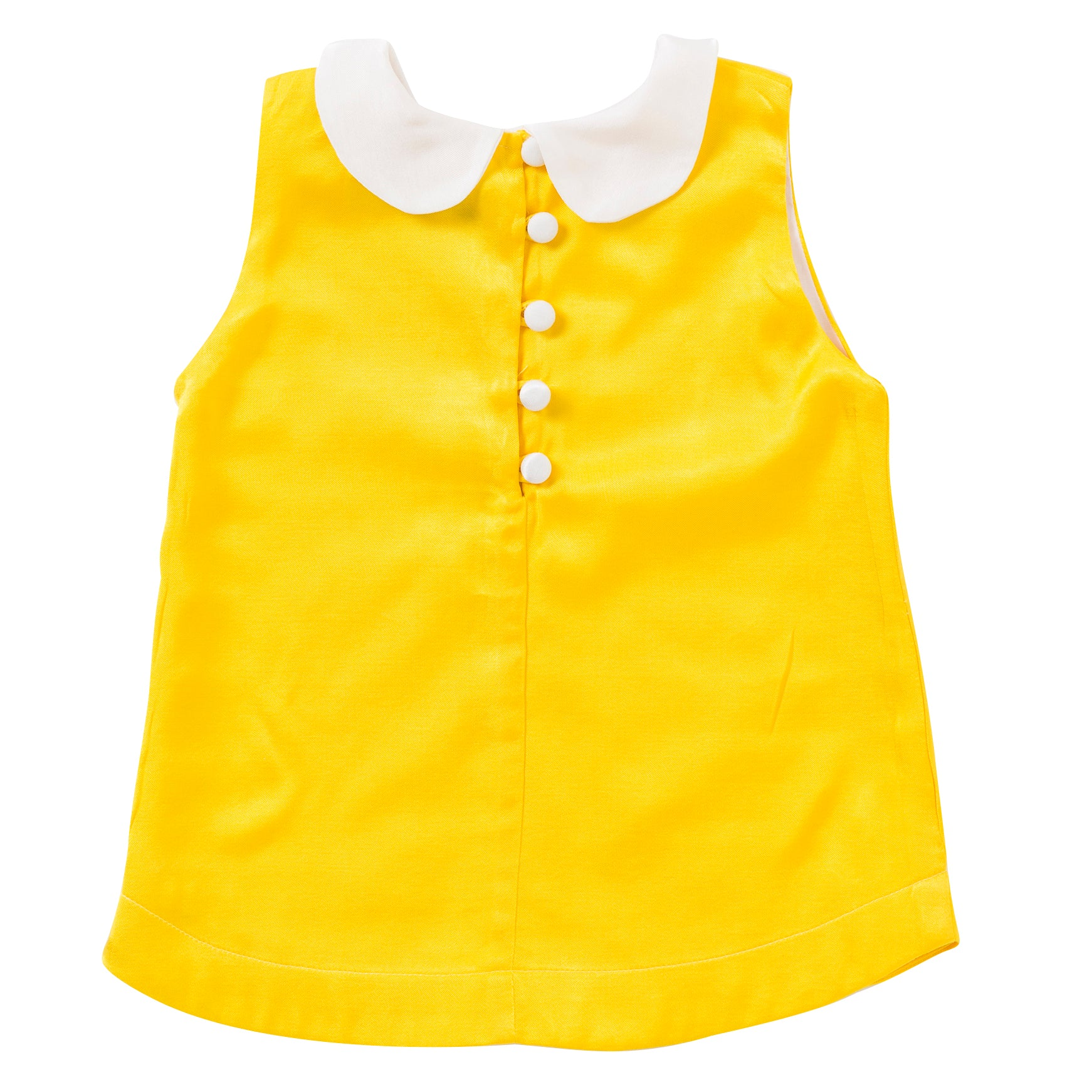 Peter Pan Top in Yellow