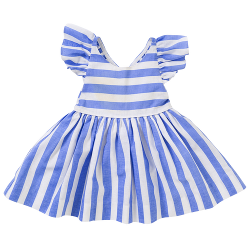 The Mila Dress in Stripe